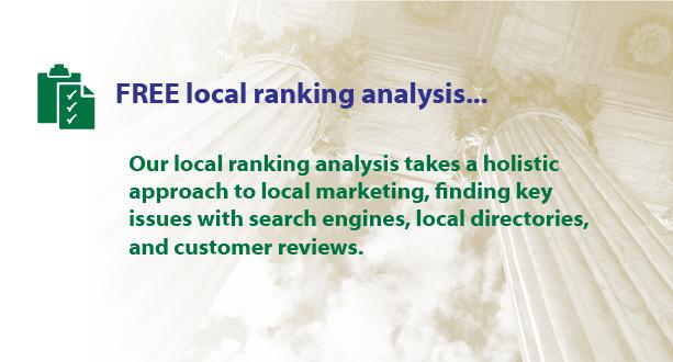 Free Local Ranking Analysis