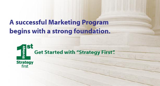 Strategy First Marketing Program