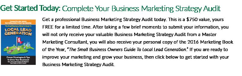 Business Marketing Strategy Audit - CTA